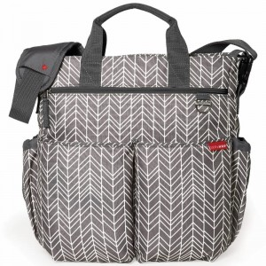 Skip Hop, Torba Duo Signature Grey feather